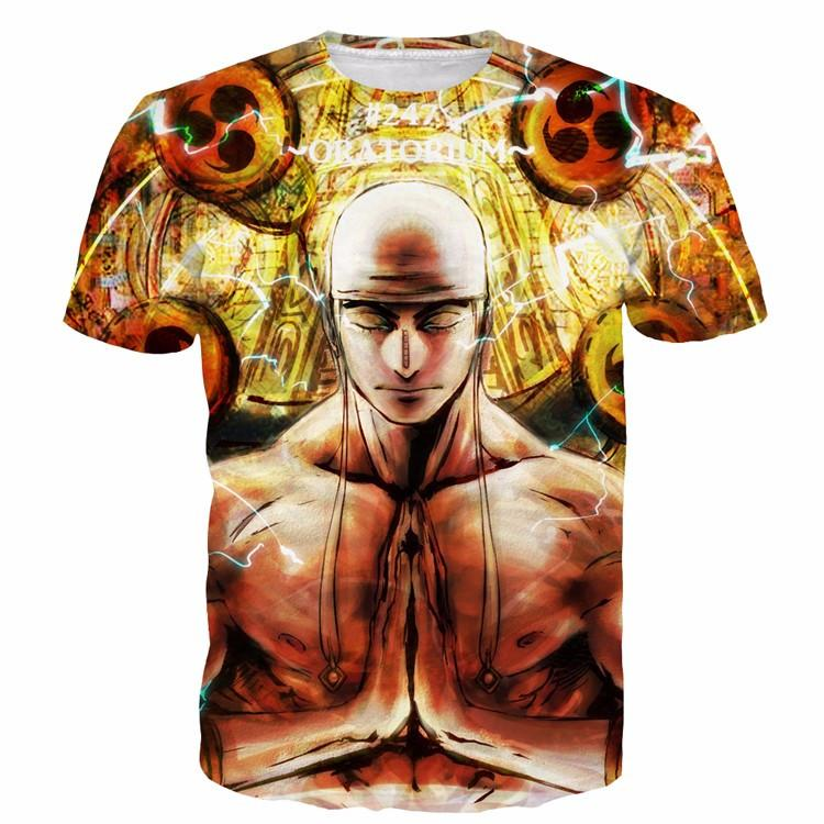 One Piece Invincible Electric Power God Enel Tomoe Drums T-Shirt - Konoha Stuff