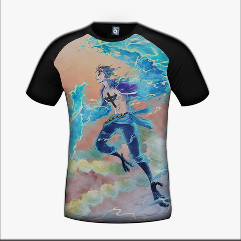 One Piece Marco The Phoenix Pirate Captain Whitebeard Crew Art Design T-Shirt