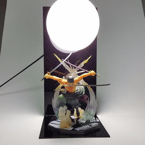 One Piece Roronoa Zoro Pirate Hunter Zoro Bounty Hunter DIY Lamp - Konoha Stuff