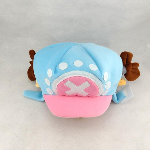 One Piece Tony Tony Chopper Cosplay Pink Blue Cute  Plush Beanie Hat - Konoha Stuff - 1