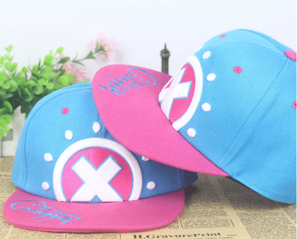 One Piece Tony Tony Chopper Cute Color Hip Hop Hat Cap Snapback - Konoha Stuff - 1