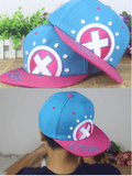 One Piece Tony Tony Chopper Cute Color Hip Hop Hat Cap Snapback - Konoha Stuff - 2