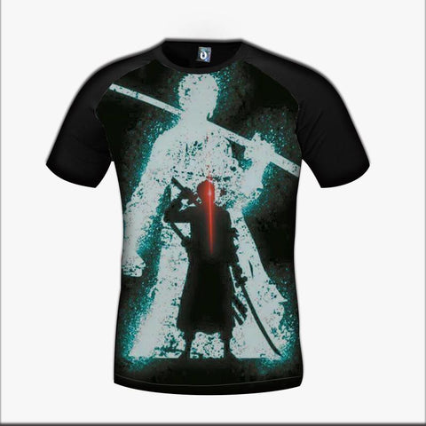 One Piece Zoro Roronoa Swordman Pirate Bounty Hunter Vibrant Trending T-Shirt