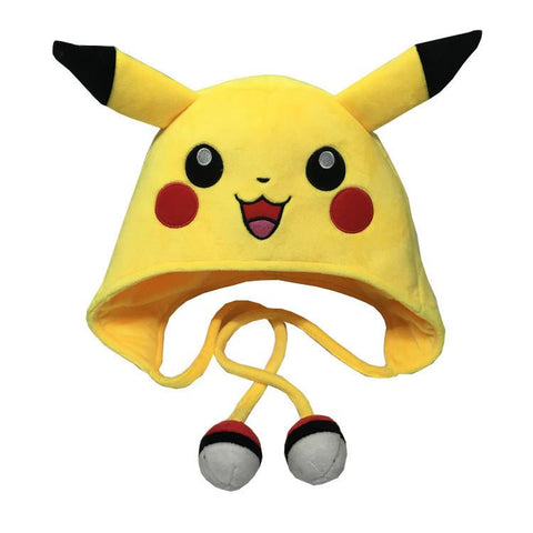 Pikachu Pokemon Cute Anime Yellow Trendy Fashionable Beanie Hat - Konoha Stuff - 1