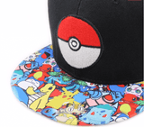 Pokemon GO Pikachu Charmander Trainers Ball  Hip Hop Hat Cap Snapback - Konoha Stuff - 2