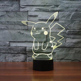 Pokemon GO Pikachu LED 7 Color Changing Night Cute Lamp - Konoha Stuff - 7