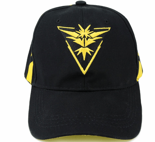 Pokemon GO Team Instinct Embroidery Hip Hop Hat Baseball Cap Snapback - Konoha Stuff - 1