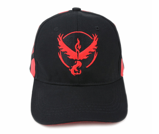 Pokemon GO Team Valor Embroidery Hip Hop Hat Baseball Cap Snapback - Konoha Stuff - 1