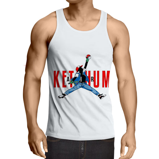Pokemon Go Ash Ketchum Cool Parody Tank Top