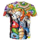 Pokemon Hokage Generation Shenlong Ultimate Battle Damage T-shirt - Konoha Stuff - 2