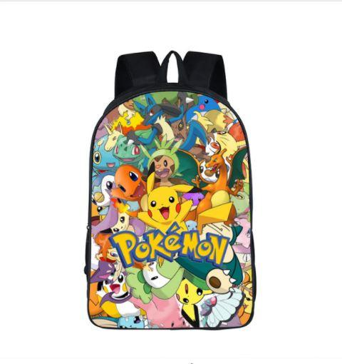 Pokemon Japanese Famous Anime Cute School Bag Backpack