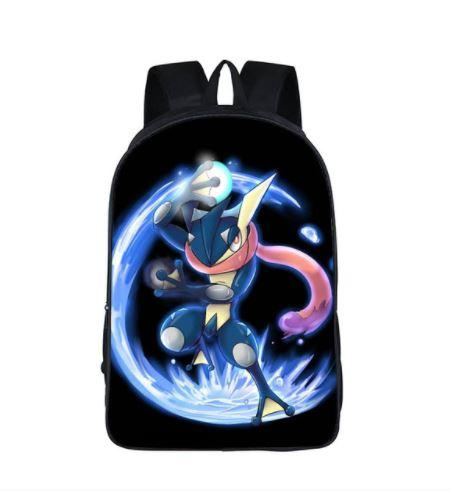 Pokemon XY Series Greninja Creature School Bag Backpack