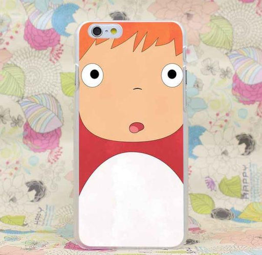 Ponyo Little Girl Cute Japan Anime Ghibli Studio iPhone 4 5 6 7 Plus Case