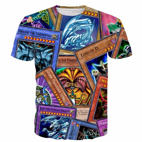 Powerful Highest Attack Yu-Gi-Oh Monster Cards Game Marvelous T-shirt - Konoha Stuff - 1