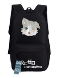 Re Zero Pack Spirit Cat Beast of the End Adorable Design Backpack - Konoha Stuff - 2