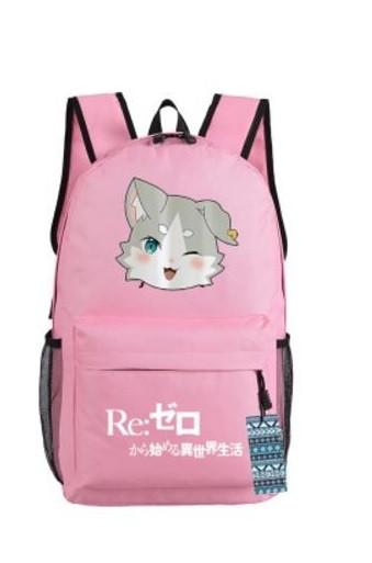 Re Zero Pack Spirit Cat Beast of the End Adorable Design Backpack - Konoha Stuff - 3