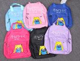 Sailor Moon Usagi Tsukino Lovely Cat Luna Candy Colorful Trendy Backpack - Konoha Stuff - 7
