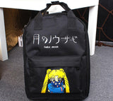 Sailor Moon Usagi Tsukino Lovely Cat Luna Candy Colorful Trendy Backpack - Konoha Stuff - 2
