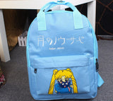 Sailor Moon Usagi Tsukino Lovely Cat Luna Candy Colorful Trendy Backpack - Konoha Stuff - 4