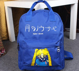 Sailor Moon Usagi Tsukino Lovely Cat Luna Candy Colorful Trendy Backpack - Konoha Stuff - 6
