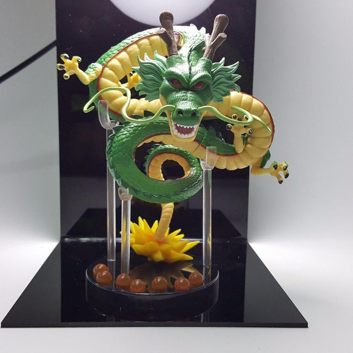Shenron Shenlong Dragon with the Moon Display DIY Night Lamp - Saiyan Stuff