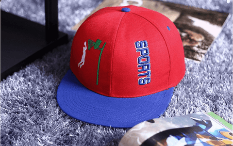 Slam Dunk Brand Logo Basketball Sports Red Cap Baseball Hat Snapback - Konoha Stuff - 1