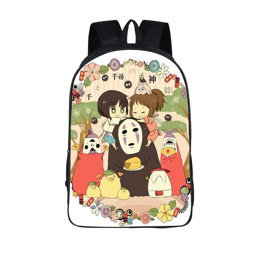 Spirited Away Chihiro Haku No Face Chibi Art Backpack