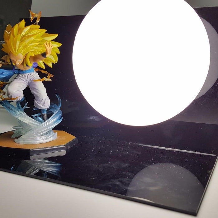 Super Saiyan 3 SSJ3 Gotenks Kamehameha Power Attack Move DIY Lamp - Saiyan Stuff