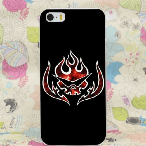 Team Dai-Gurren Brigade Symbol Fire Awesome iPhone 4 5 6 7 Plus Case