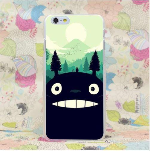 Totoro Art Style Studio Ghibli Famous Anime Theme Concept  iPhone 4 5 6 7 Plus Case - Konoha Stuff