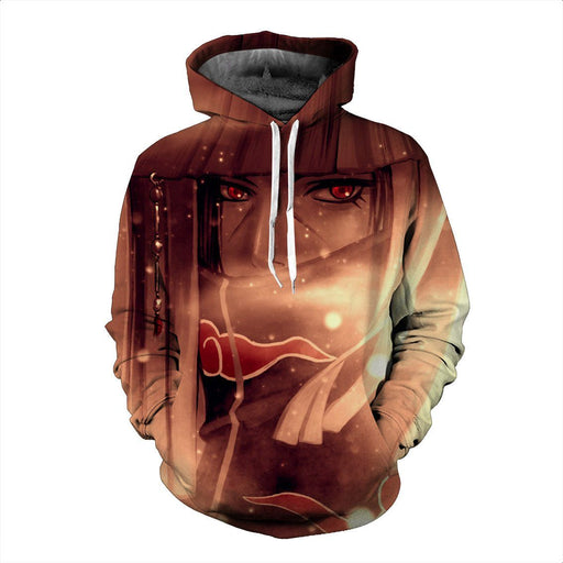 Uchiha Itachi Power Akatsuki Criminal Clan Sasuke Brother Trendy Hoodie - Konoha Stuff
