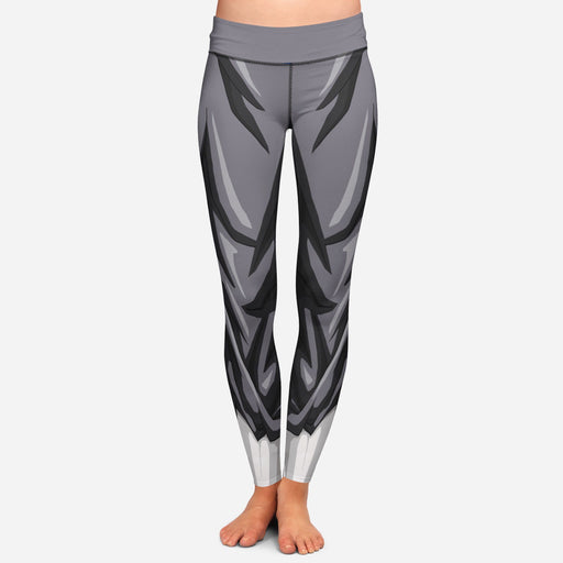 Vegeta Whis Armor Women Cosplay Gray Leggings Yoga Pants