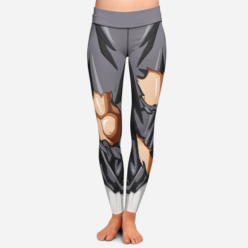 Vegeta Whis Battle Armor Women Cosplay Leggings Yoga Pants