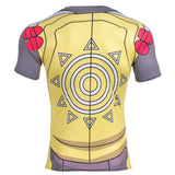 WarGreymon Armor Digimon Yellow Athletic Compression T-Shirt