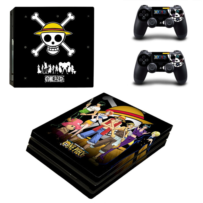 Anime One Piece Badass Amazing Symbol Design PS4 Pro Skin