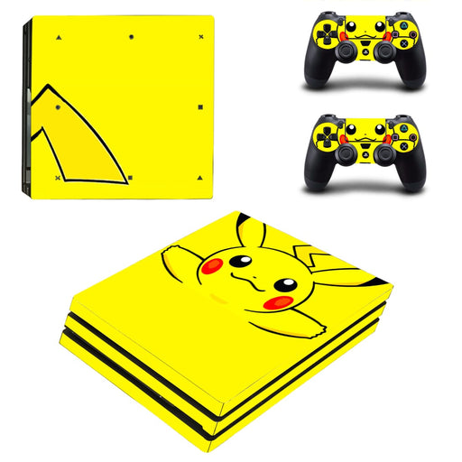 Pokemon Pikachu Lovely Unique Awesome Dope PS4 Pro Skin