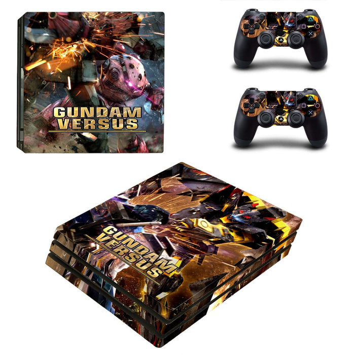 Gundam Versus Game Fantastic Fighting Vibrant PS4 Pro Skin