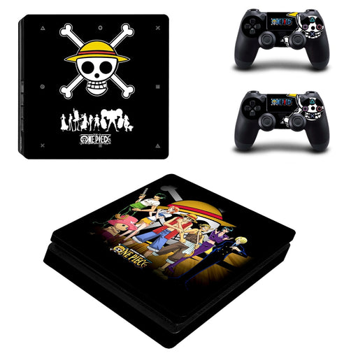 Anime One Piece Badass Amazing Symbol Design PS4 Slim Skin