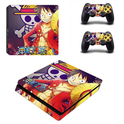 One Piece Manga Straw Hat Monkey D. Luffy Dope PS4 Slim Skin