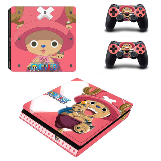 One Piece Anime Chopper Lovely Pirate Design PS4 Slim Skin