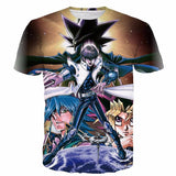 Yu-Gi-Oh! Duel Monsters Anime The Dark Side of Dimensions Yugi Kaiba 3D T-shirt - Konoha Stuff - 1