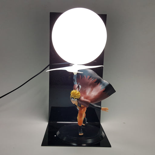 Naruto Uzumaki Sage Mode Rasenshuriken White DIY 3D Light Lamp