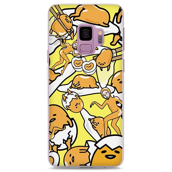 Gudetama Lazy Egg Funny Collage Samsung Galaxy Note S Series Case