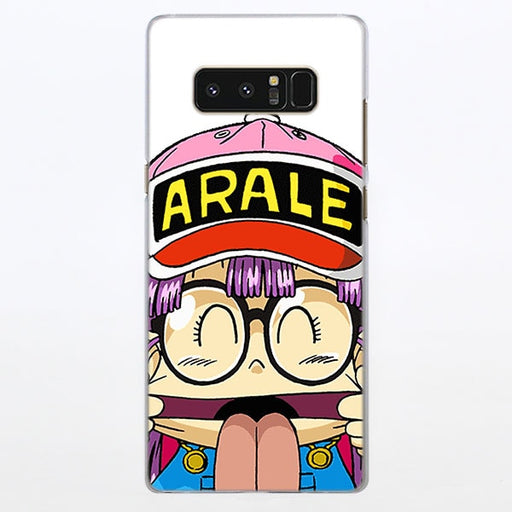 Dr. Stump Cheeky Arale Tounge Out Samsung Galaxy Note S Series Case
