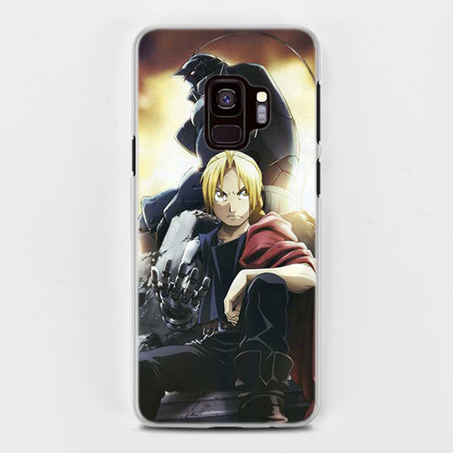 Full Metal Alchemist Elric Brothers Ed Al Samsung Galaxy Note S Case