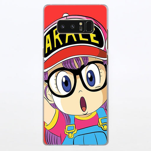Dr. Slump Arale-chan Red Samsung Galaxy Note S Series Case