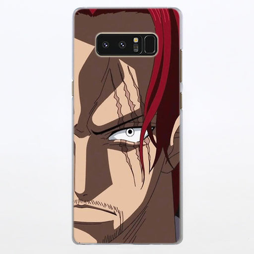 One Piece Serious Red-Haired Shanks Samsung Galaxy Note S Series Case