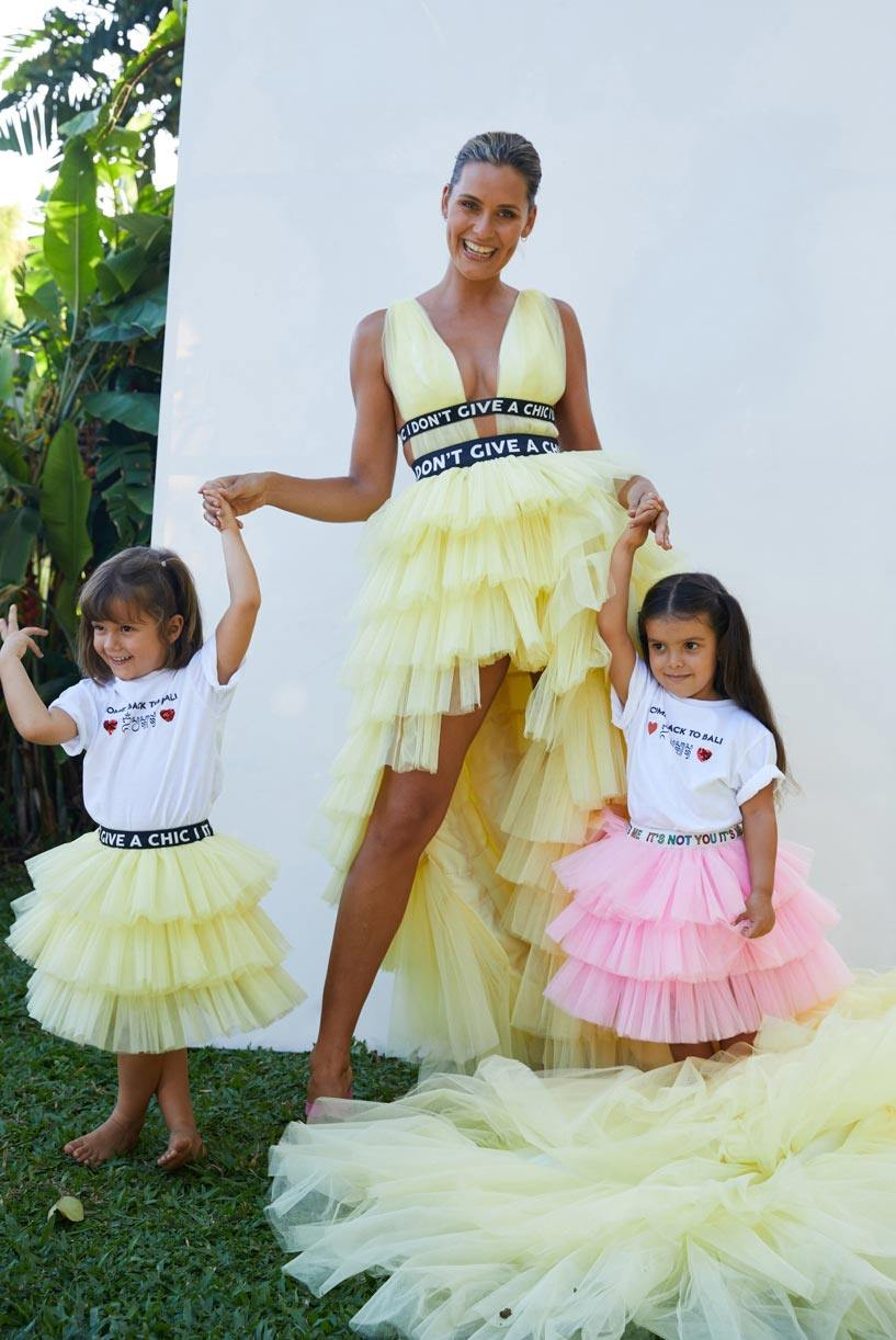 Short Long Tulle Dress - House of Mua Mua