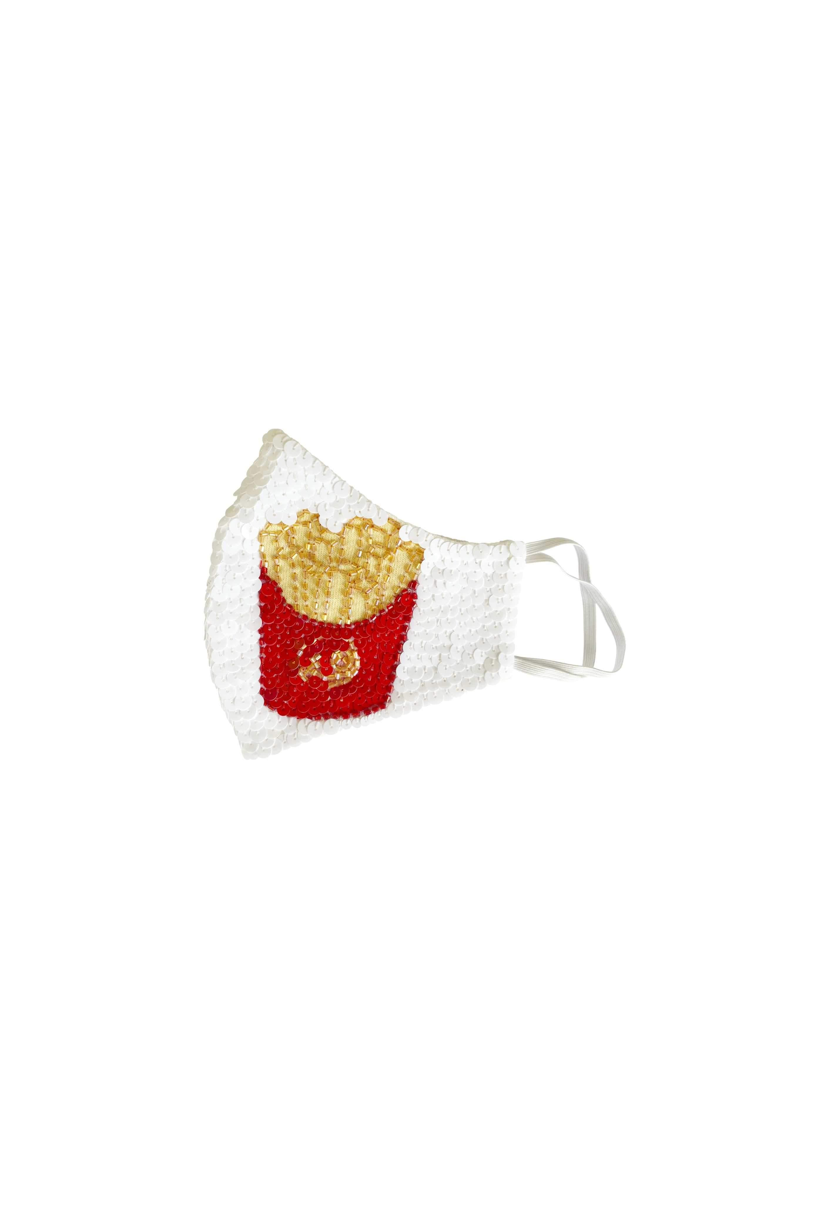 Fries Over Guys Sequin Mask - House of Mua Mua