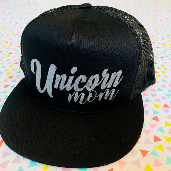 """Unicorn Mom"" Snapback Hat"